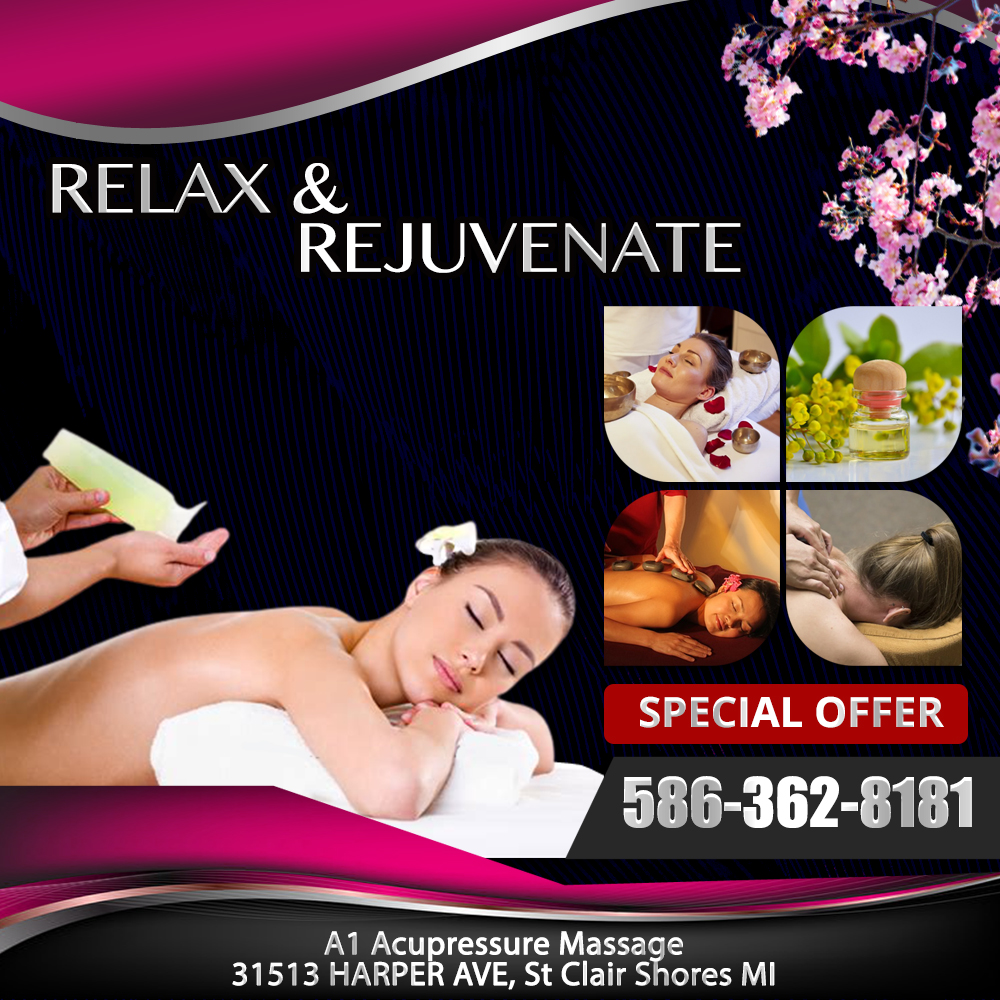 A1 Acupressure Massage Asian Spa Open