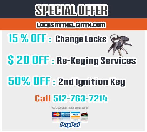 Locksmith Elgin TX