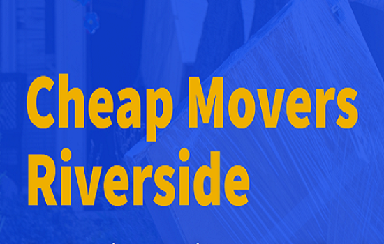 Cheap Movers Riverside