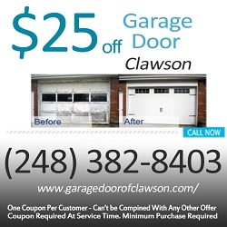 Garage Door Of Clawson