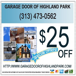 Garage Door of Highland Park