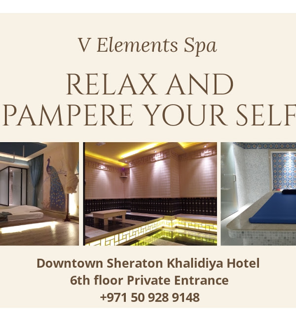 V Elements Spa Massage Center in Abu Dhabi