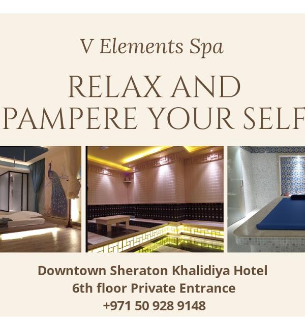 V Elements Spa Massage Center in Abu Dhabi