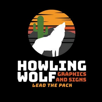 Howling Wolf Graphics and Signs