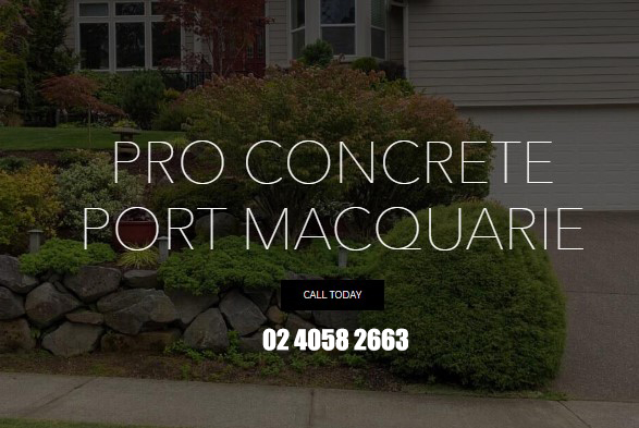 Pro Concrete Port Macquarie