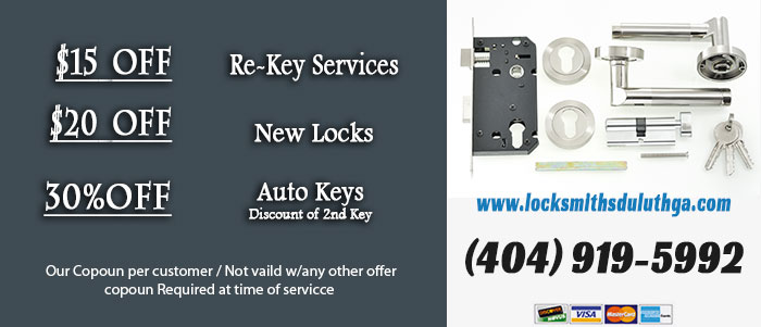 Locksmiths Duluth GA