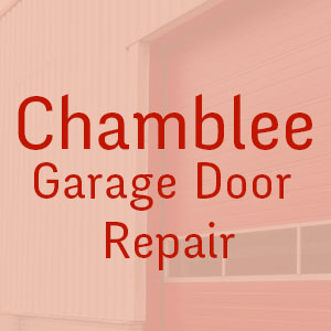 Chamblee Garage Door Repair