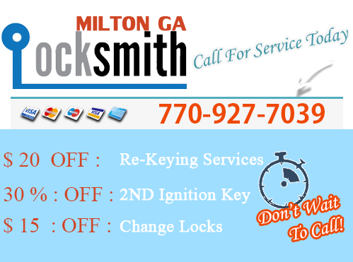 Locksmith Milton GA