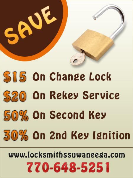 Locksmiths Suwanee GA