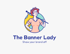 The Banner Lady