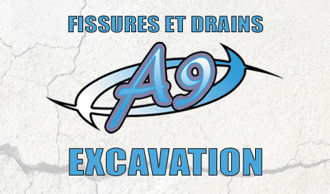 Fissures et Drains A9 Excavation