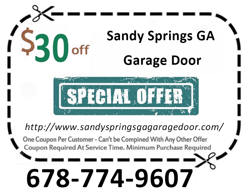 Sandy Springs GA Garage Door