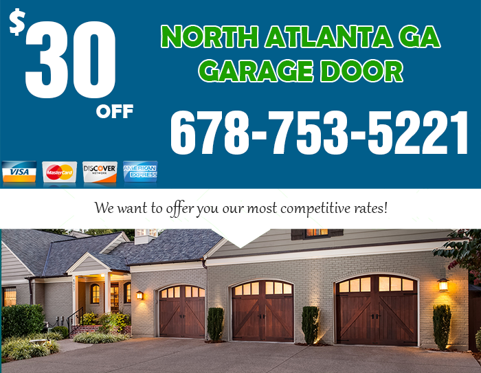 North Atlanta GA Garage Door