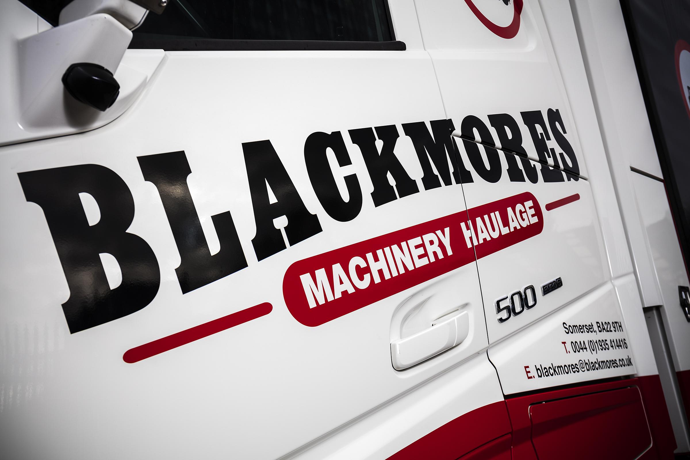 Blackmores Machinery Haulage Ltd