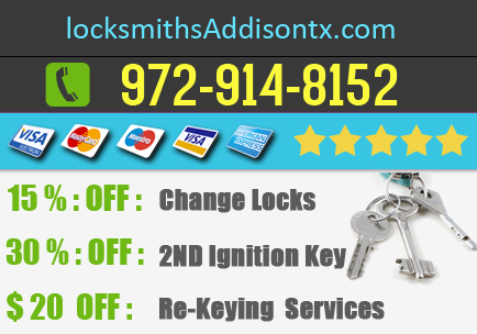 Locksmiths Addison TX