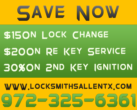 Locksmiths Allen TX