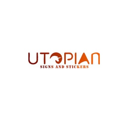 Utopian Signs & Stickers