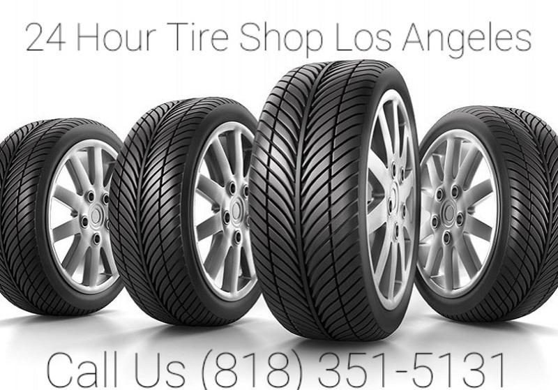 24 HOUR TIRE SHOP LOS ANGELES (818) 351-5131