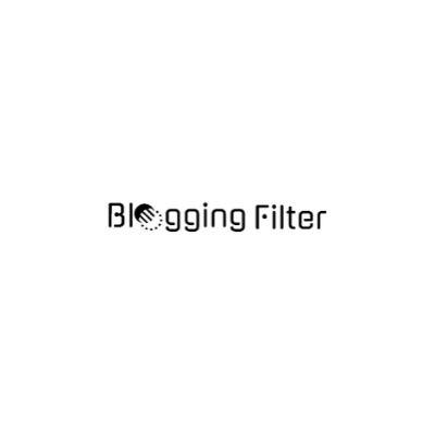 Blogging Filter
