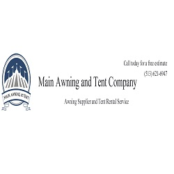Main Awning & Tent