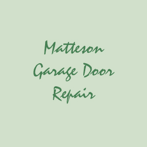 Matteson Garage Door Repair