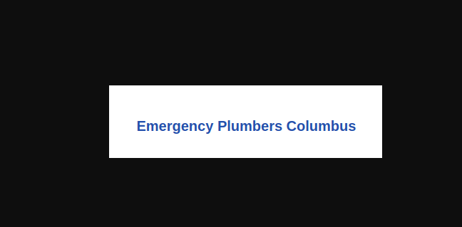 Peter Emergency Plumbers Columbus Ohio