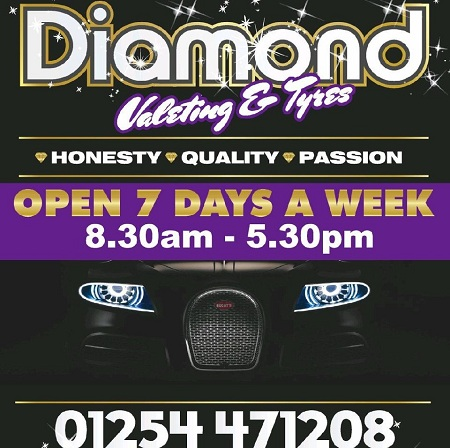 Diamond Valeting and Tyres