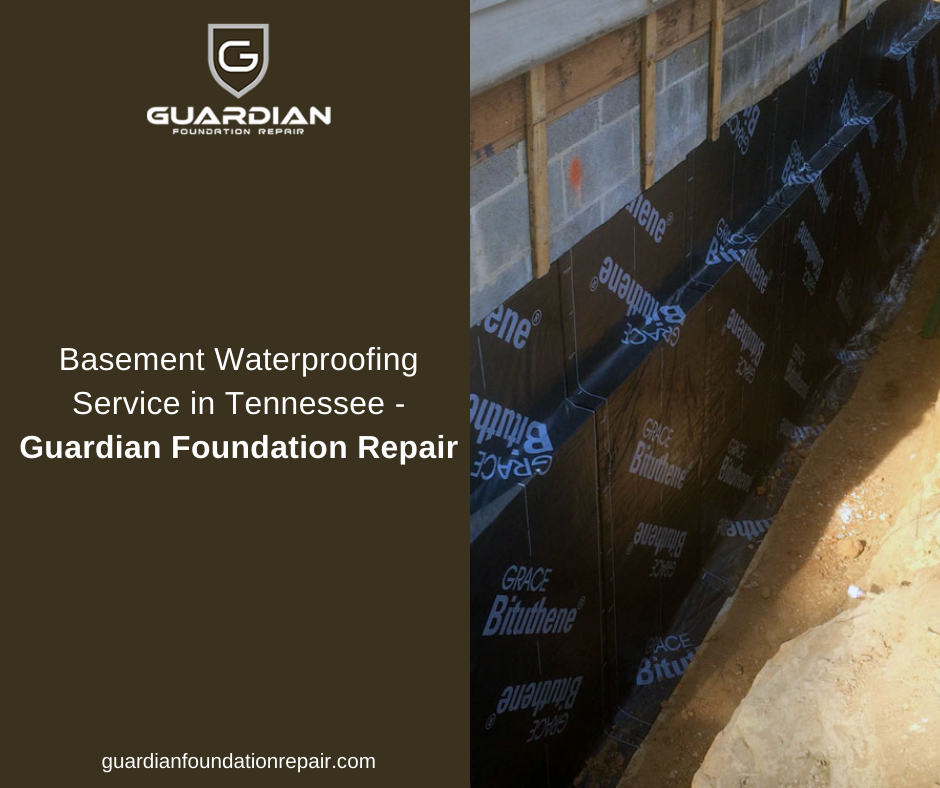 Basement Waterproofing Service In Tennessee | Guardian Foundation Repair