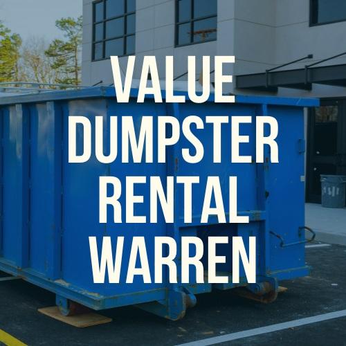 Value Dumpster Rental Warren