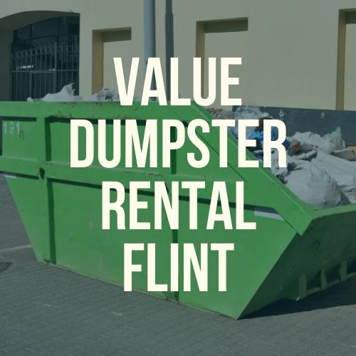 Value Dumpster Rental Flint