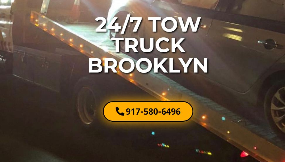 24/7 Tow Truck Brooklyn | Roadside Assistance