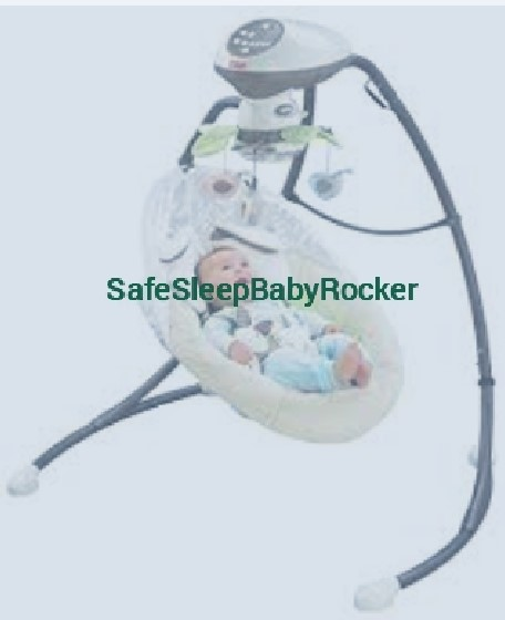 Safe Sleep Baby Rocker