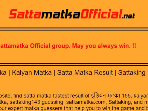 Satta Matka Kings