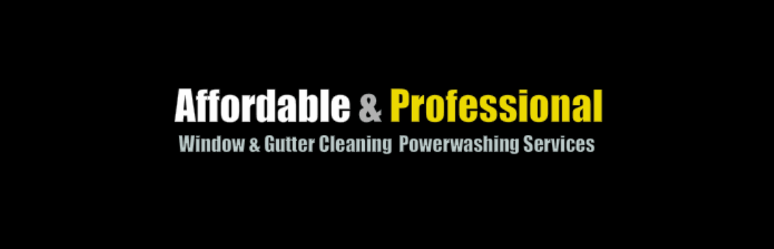 Affordable & Professional Window & Gutter Cleaning Powerwashing Services
