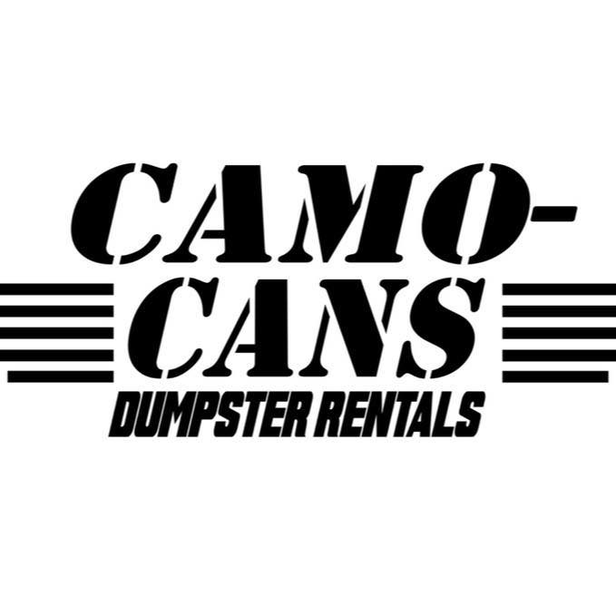 Camo Cans Dumpster Rental