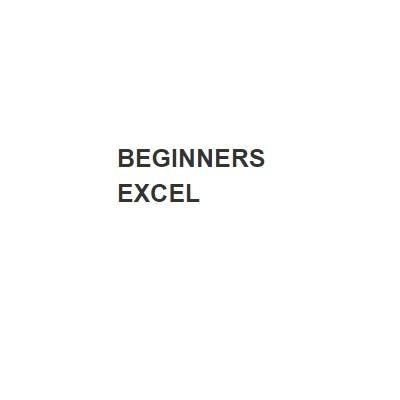 Beginners Excel
