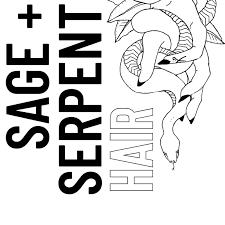 Sage + Serpent Hair