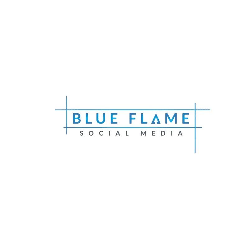 Blue Flame Social Media