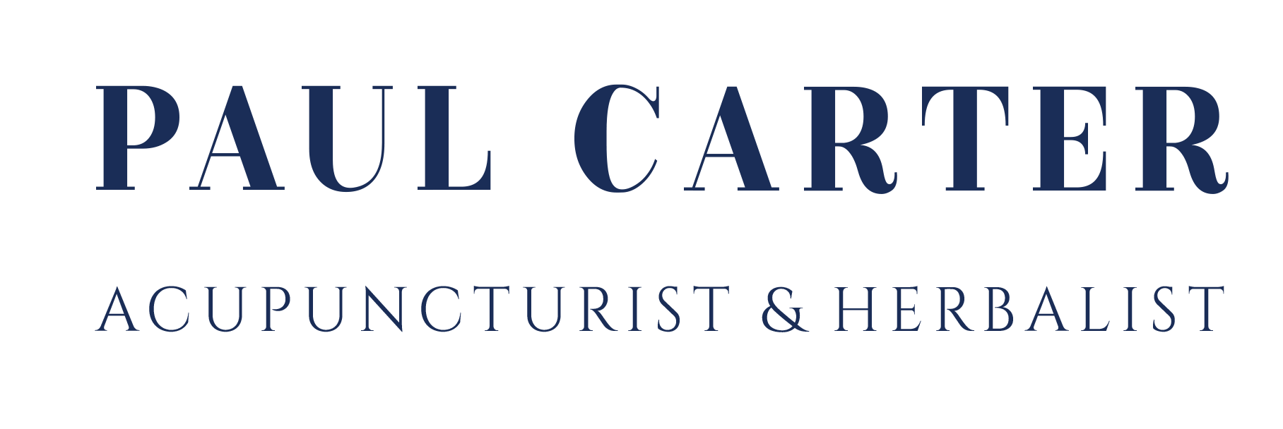 Paul Carter, Acupuncturist & Herbalist