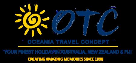 Oceania Travel Concept