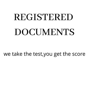 REGISTERED DOCUMENTS