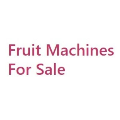 Fruit Machines For Sale
