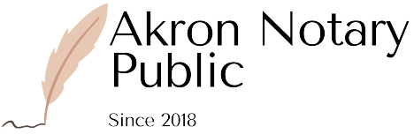 Akron Notary Public