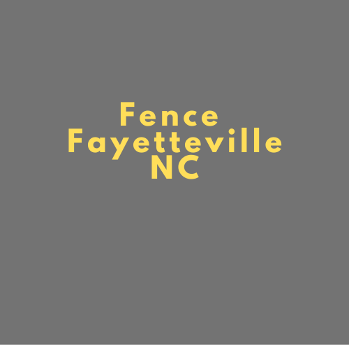 Luxurious Fence Fayetteville
