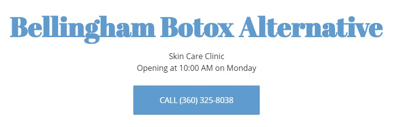 Botox Bellingham Alternative