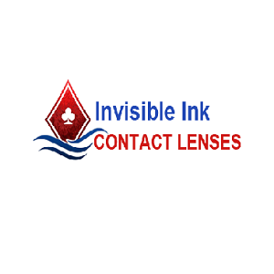 Invisible Ink Contact Lenses