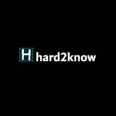 Hard2know