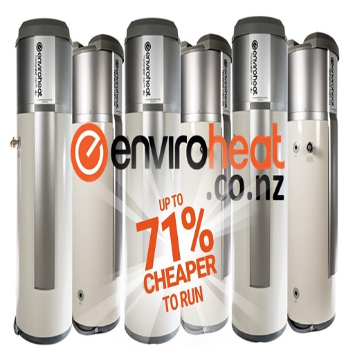 Enviroheat Hot Water Systems New Zealand