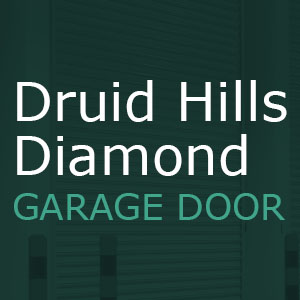 Druid Hills Diamond Garage Door