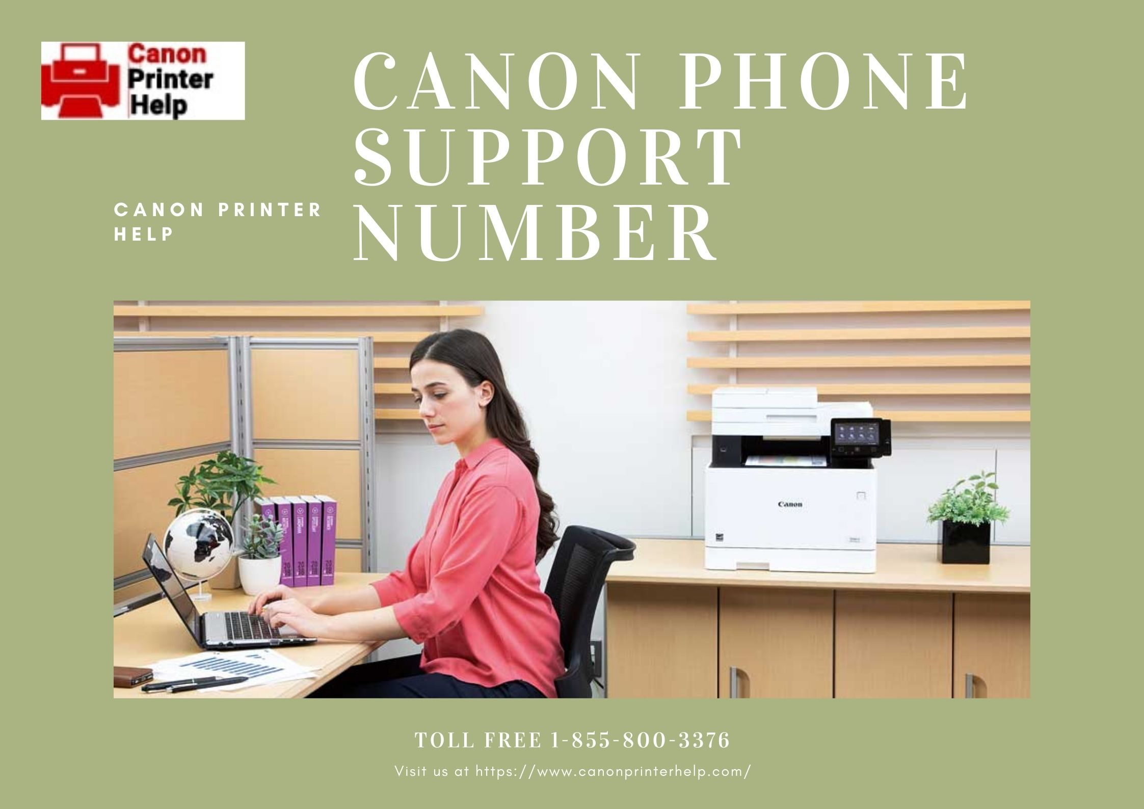 Canon Printer Help – 1-855-800-3376